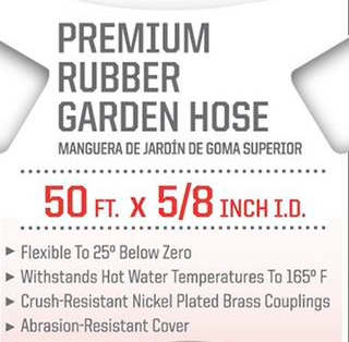 Craftsman All Rubber Garden Hose 5 8 In X 50 Ft American Toolbox