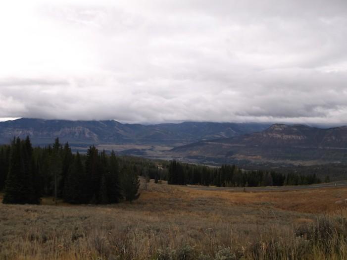 cloudy yellowstone end of season