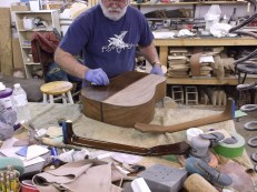 wayne henderson 2015 shop bench