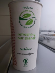 CocaCola ecotainer compostable paper cup 3