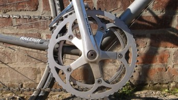 raleigh technium suntour crank sprockets