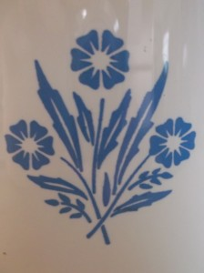 CorningWare Cornflower design