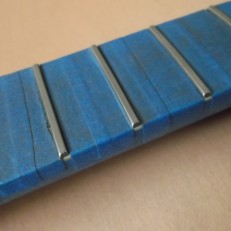 5 collings mt2 fret after sanding 220:320 grit
