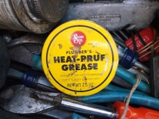 heat-pruf grease in tool bag close jim sergovic