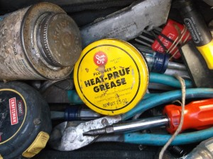 heat-pruf grease in tool bag jim sergovic