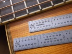 64THS RULER ON GUITAR