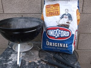 Kingsford Charcoal with Weber jsergovic