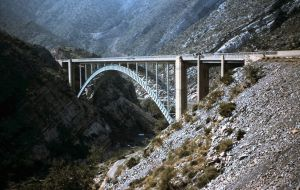 pinto creek bridge 1955