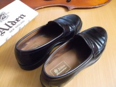 alden restoration personal wear in a new shoe