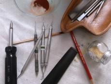 dental picks jim sergovic luthier 2