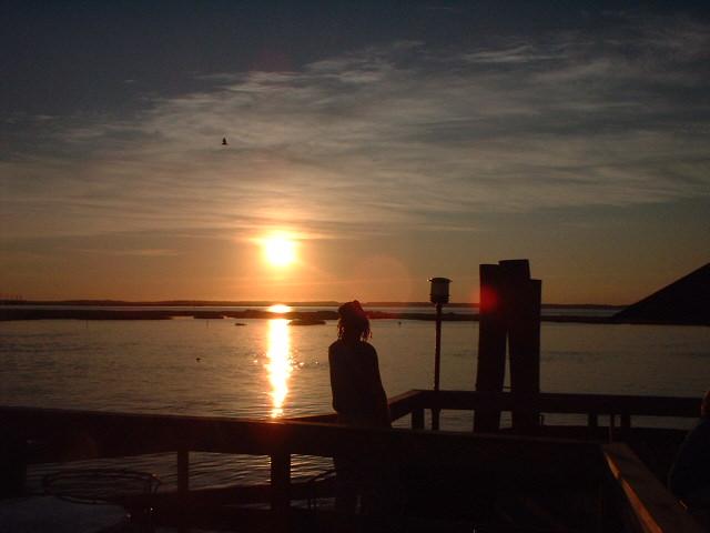 paul kearsley on chincoteague island 2002 by jim sergovic