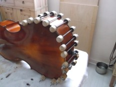 clamping cello top to sides