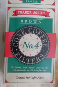 trader joe coffee filters