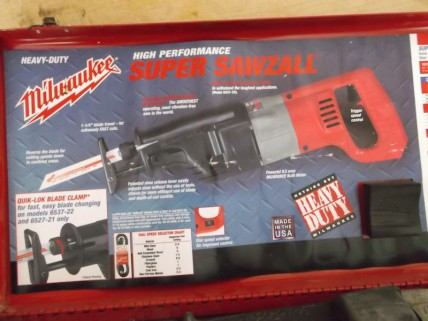milwaukee super sawzall box insert