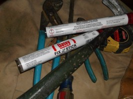 oatey fix it stick with tools