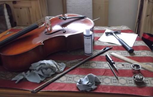 cello with behlen buffer's polish