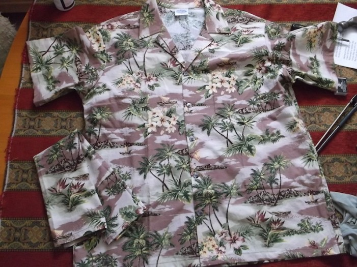 mauve island shirt