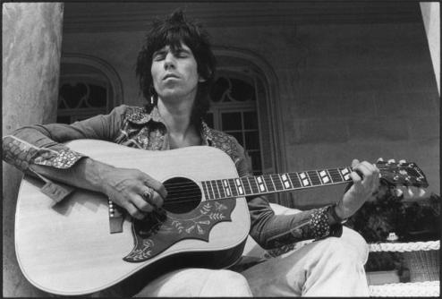 keith-richards-gibson-hummingbird