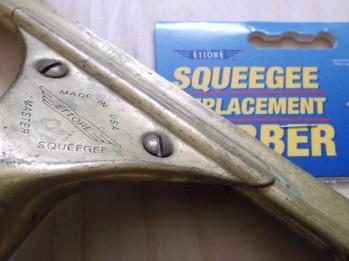 1989 ettore brass squeegee