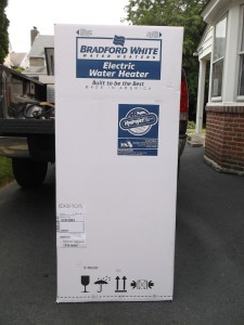 bradford white boxed water heater