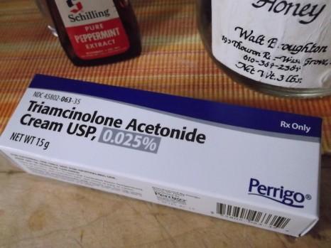perrigo triamcinolone acetonide .025 box 15g