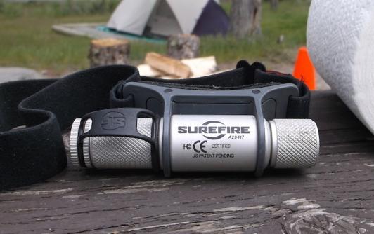 surefire headlamp camping