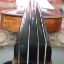 micro mesh polished ebony violin fingerboard