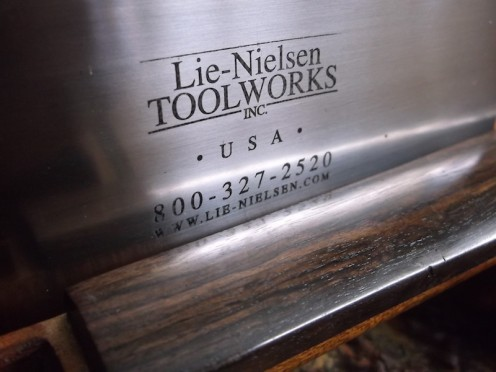 lie nielsen ebony violin fingerboard 1