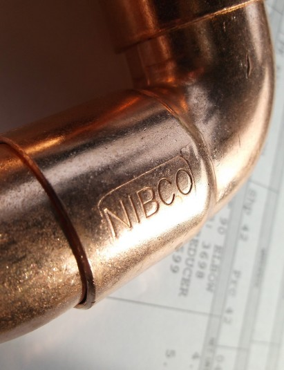 copper stamped NIBCO