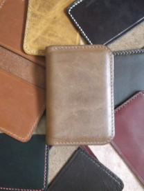 Heap of RO-ARK bifold card cases