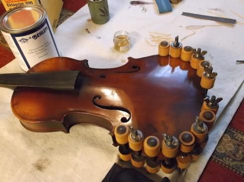 olivia's york violin