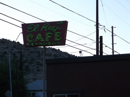 El Rey Cafe Reynoso Globe Arizona