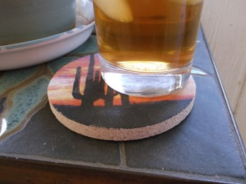 Iced Tea On Table