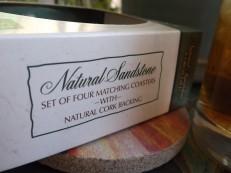 Natural Sandstone Coasters
