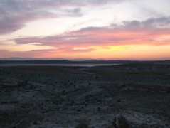 Pleistocene era New Mexico salt ponds