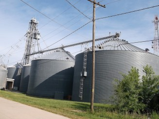 Sweet Springs Grain Silos