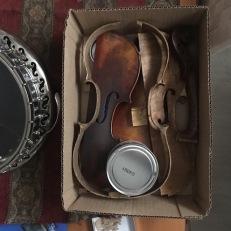 1850s Mirecourt violin refurbishment