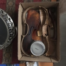 1850s Mirecourt violin refurbishment
