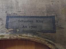 Sebastien Kloz An 1700 C